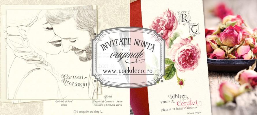 Invitatii Nunta Lista Preturi Yorkdeco Atelier Invitatii Nunta