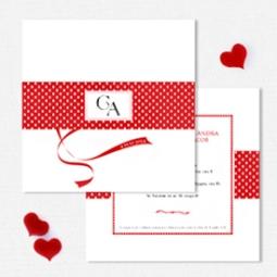 YorkDeco - Chic - Invitatie de nunta moderna minimalista, chic, pop-art