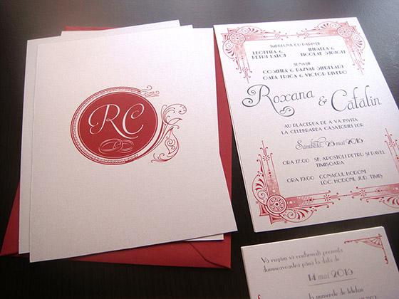 Invitatii nunta art deco Gatsby - Yorkdeco (1)