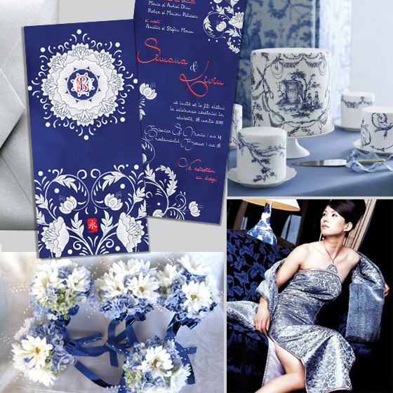 Invitatie de nunta de lux orientala