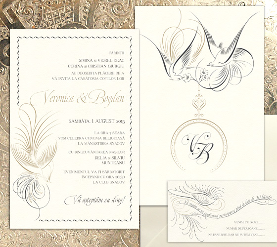 invitatii nunta exotice - Paradise