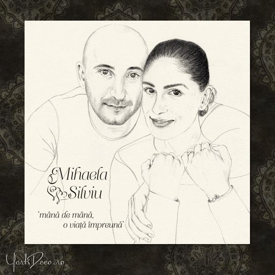 Invitatii nunta la comanda - Mihaela si Silviu - YorkDeco