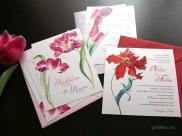 invitatii nunta cu lalele - Yorkdeco (2)