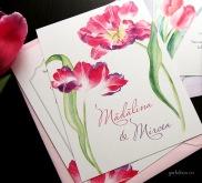 invitatii nunta cu lalele - Yorkdeco (3)