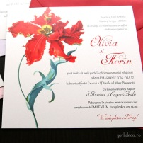 invitatii nunta cu lalele - Yorkdeco (4)