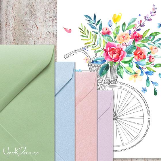 invitatii-de-nunta-deosebite-cu-bicicleta-si-flori-acuarela-plicuri-summer-time