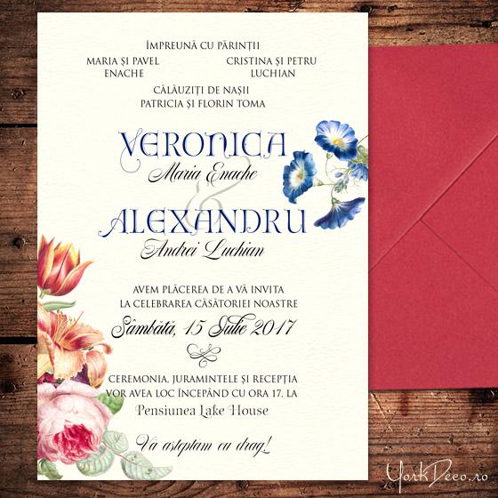 invitatii-deosebite-cu-crini-si-trandafiri-heritage-yorkdeco