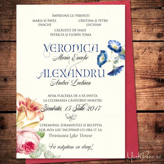 invitatii-superbe-cu-trandafiri-si-crini-heritage-yorkdeco