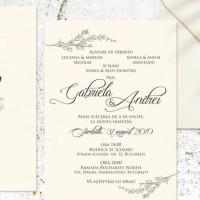 Invitatie Flora